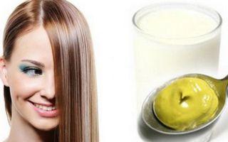 Эффективность применения масок для волос с горчицей, кефиром и медом