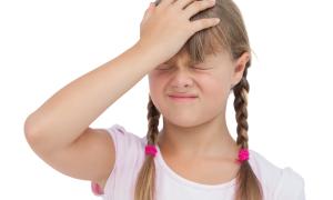 В чем причина мигрени у детей