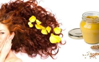 Польза масок для волос с горчицей и репейным маслом