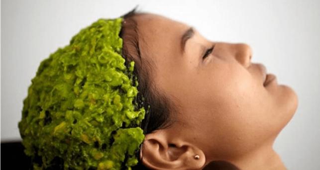 лечебная маска на голову из растений