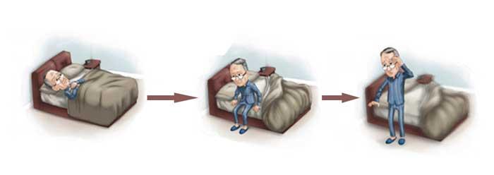 при вставании с кровати кружится голова