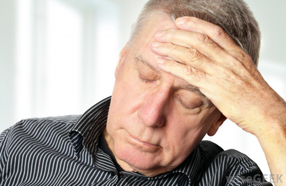 сотрясение мозга у пожилого человека