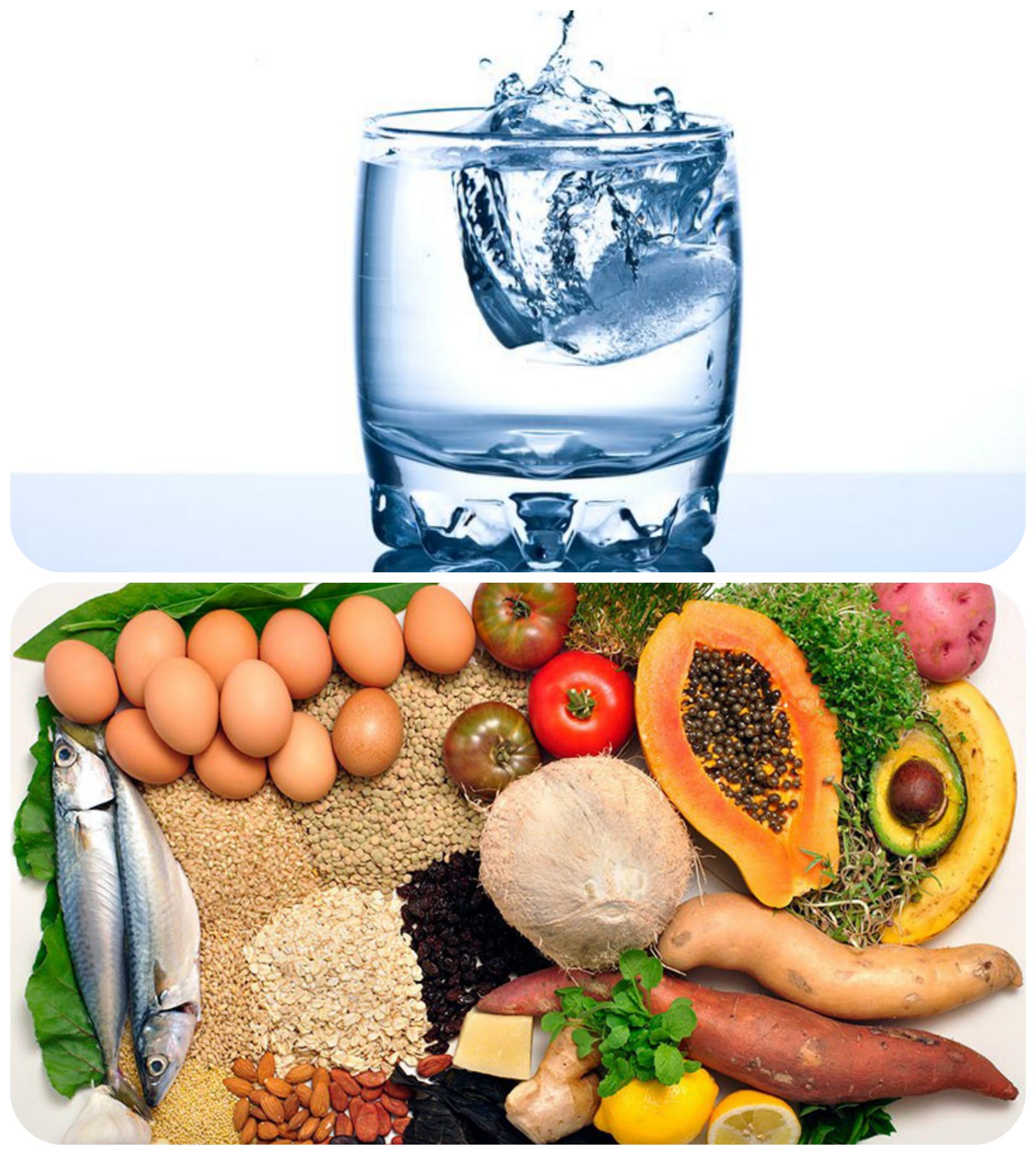 Рациональное питание и водный баланс