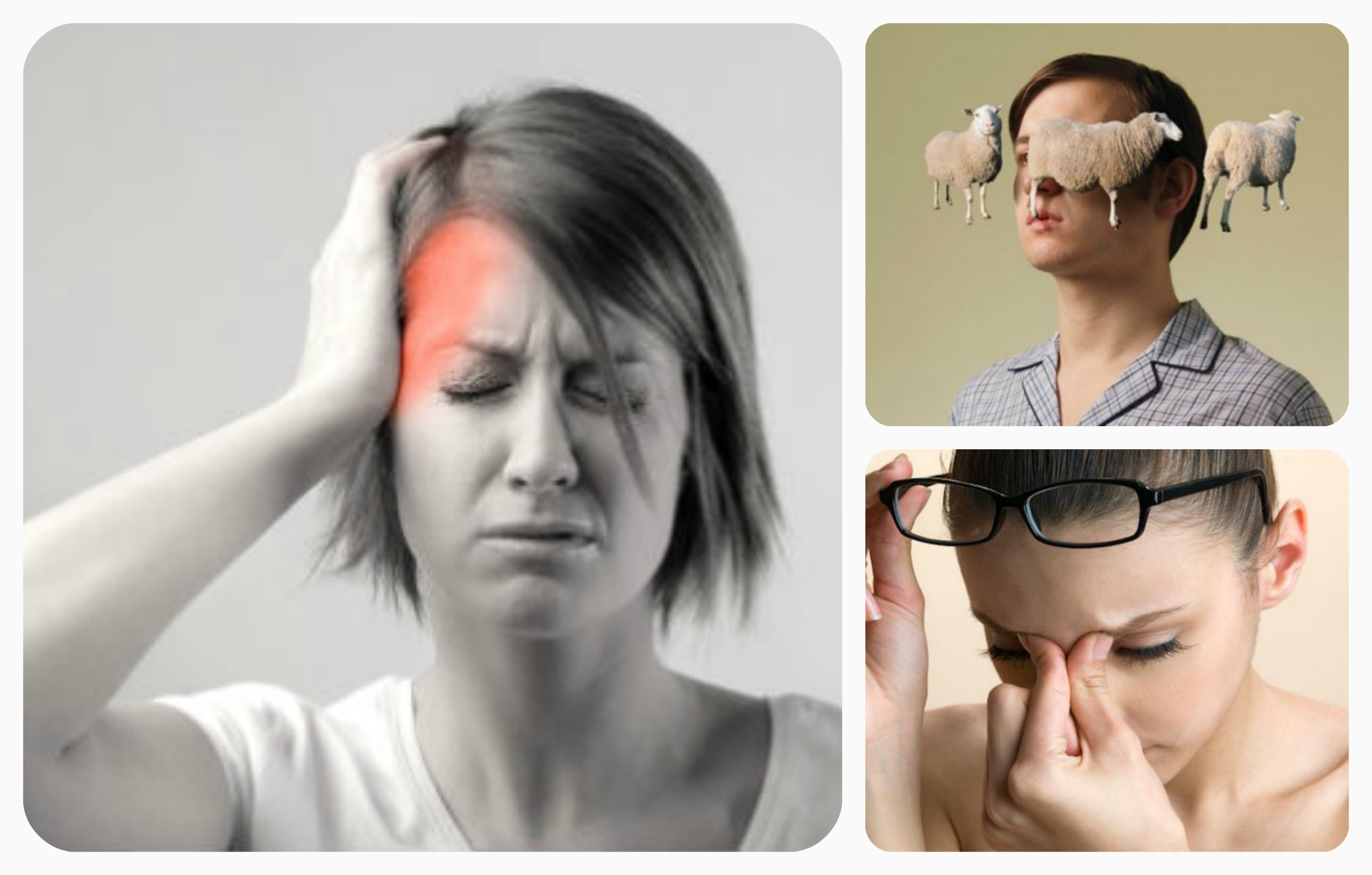 головная боль бессоница растройство зрения