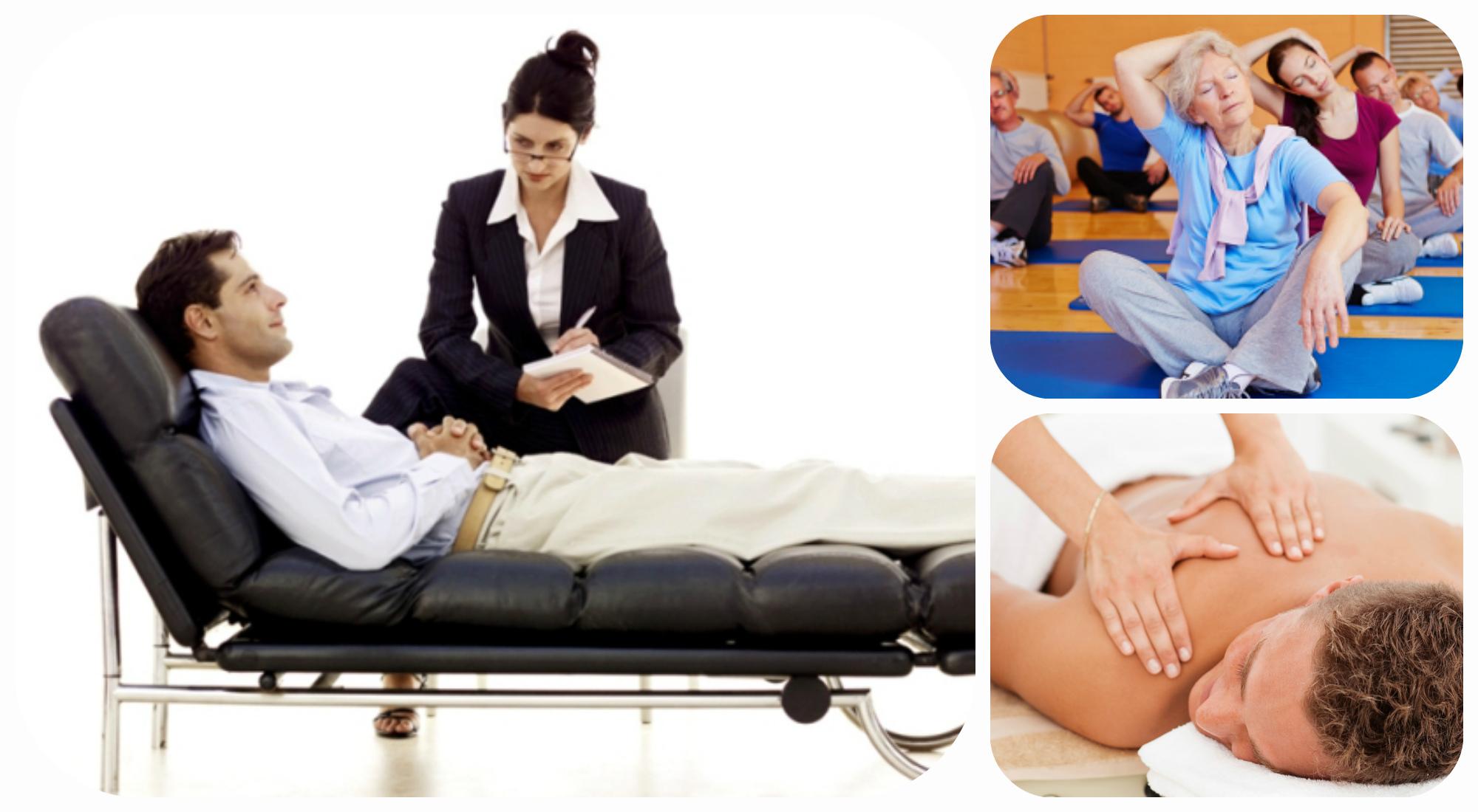 психолог ЛФК массаж