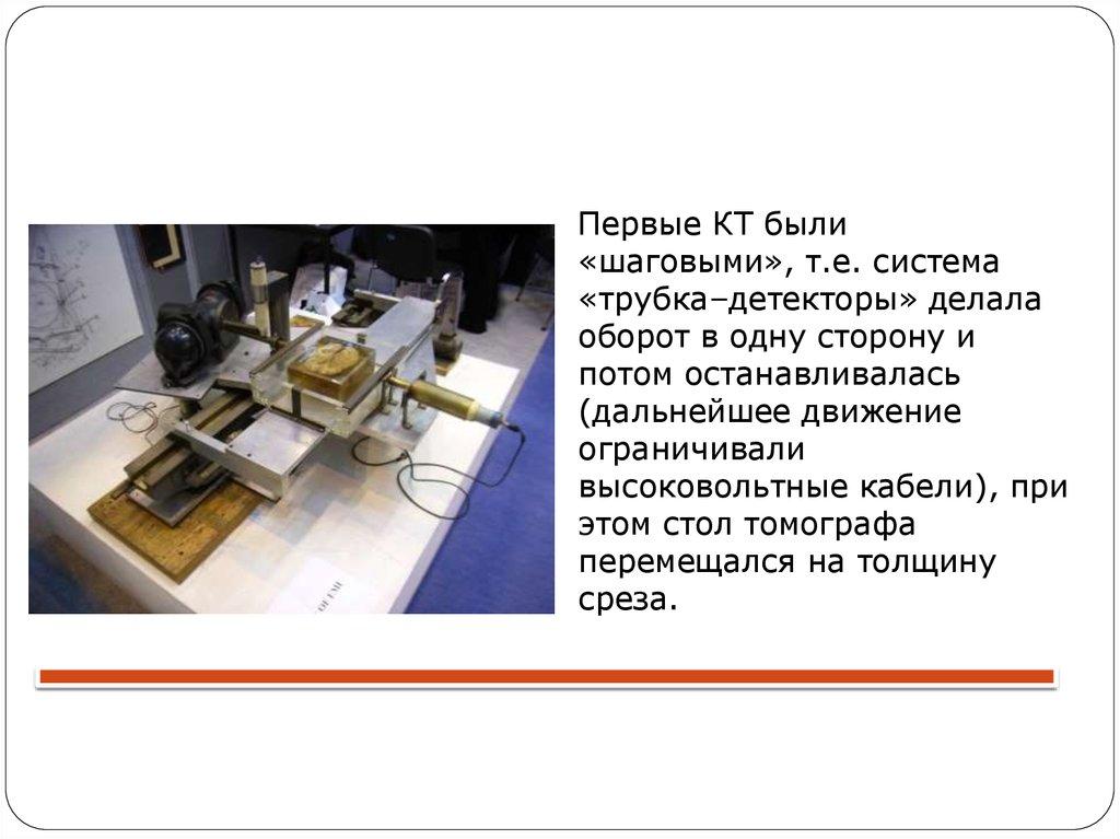 История развития метода СКТ