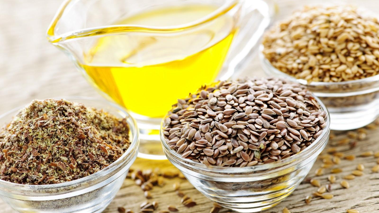 Оливково-льняное масло