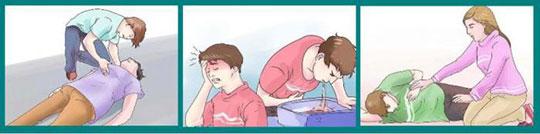 первая помощь при кровоизлиянии