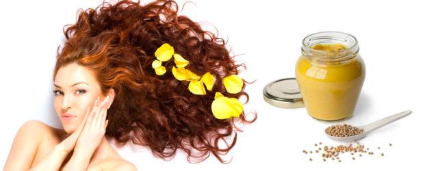 маски для волос с горчицей и репейным маслом