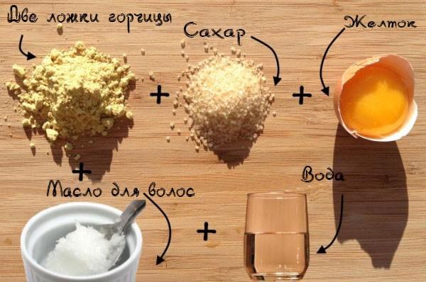 ингредиенты маски для волос