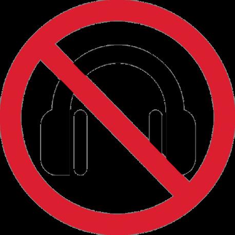 запрет на наушники