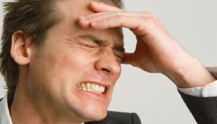 Болит часть головы над левой бровью