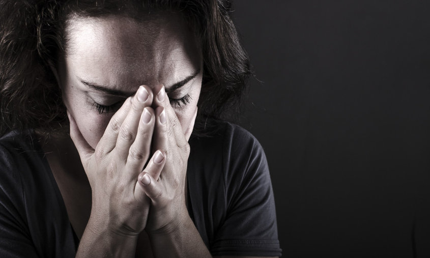 депрессия у женщины