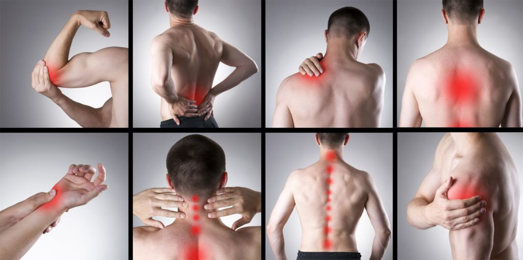 точки развития фибромиалгии
