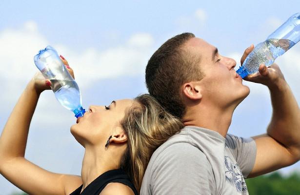 Употребление воды, алкогольный