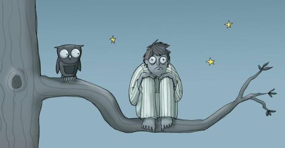 Проявление расстройства бессонницы, сна